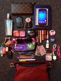 What's in my bag | by justb3ingbeth                                                                                                                                                                                 More