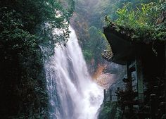 Waterfall at Nankun Mountain near Shenzhen Living In China, China Travel, Shenzhen, Waterfall, Asia, Mountain, Birthday, Places, Outdoor