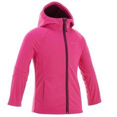 42b67441ad91 Hiking Sport di Montagna - Softshell bambina 2-6 anni Hike 900 rosa QUECHUA  -