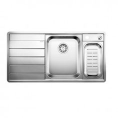 Blanco Axis II 6 S-IF Inset Stainless Steel Kitchen Sink