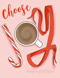 Items similar to Choose Joy cards - - Holiday - Art for Women - Quotes for Women - Art for Women - Inspirational Art on Etsy Merry Christmas, Christmas Quotes, Christmas Love, All Things Christmas, Christmas Messages, Christmas Coffee, Christmas Drinks, Christmas Design, Christmas 2017