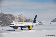 boeing 757 icelandic antarctica