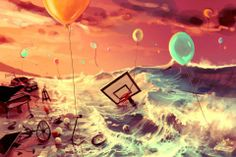 Don't Trash Your Dreams  by Aquasixio - Cyril ROLANDO