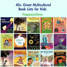 40+ Multicultural Book Lists for Kids :: PragmaticMom #KidLit #WeNeedDiverseBooks