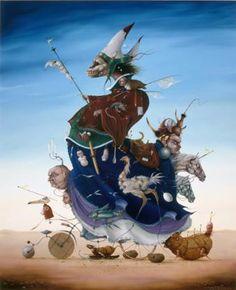 Above Art | Hans Kanters «Сюрреалистические фантазии»