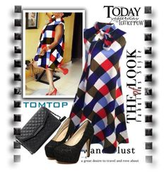 """""""TOMTOP.COM  10"""" by k-lole ❤ liked on Polyvore featuring Mason's"""