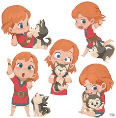 "Adventures of Kayla ""Kayla&loto's expression_action"" on Behance"