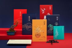 """The """"LUO BI XIN'AN""""aesthetic practice calligraphy kit on Behance Calligraphy Kit, Calligraphy Practice, Graphic Design Trends, Graphic Design Projects, Design Ideas, Chinese Branding, Incense Packaging, Chinese New Year Cake, Gift Box Design"""