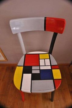 44 ideas how to paint furniture chair for 2019 Hand Painted Chairs, Funky Painted Furniture, Art Furniture, Handmade Furniture, Upcycled Furniture, Furniture Design, Furniture Showroom, Lounge Furniture, White Furniture