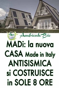 MADi: la nouvelle maison modulaire Made in Italy qui vous résiste … – Designs House In Nature, Design Jardin, Design Case, Construction, Luxury Homes, Tiny House, Beautiful Homes, Architecture Design, House Plans