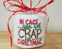 Funny christmas gifts for adults stocking stuffers 51 ideas for 2019 Christmas Gifts For Adults, Gag Gifts Christmas, Christmas In July, Holiday Gifts, Christmas Crafts, Xmas, Christmas Stuff, Christmas Toilet Paper, Toilet Paper Crafts