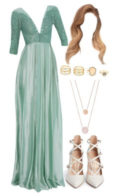 Untitled #1437 by milesofsmiles12345 on Polyvore featuring polyvore fashion style Gianvito Rossi Michael Kors LULUS Patricia Bonaldi clothing