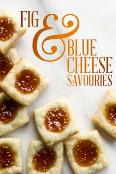 Blue Cheese and Fig Jam Crostini | Recipe | Fig jam and Figs