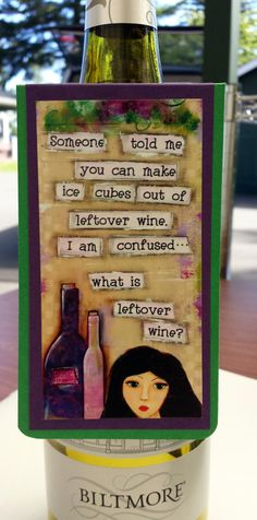 Buy Wine bottle tag-funny wine quote. Wine tag is a great addition to any wine bottle. Perfect for giving a bottle of wine with a little flair. by countrycraftersusa. Explore more products on http://countrycraftersusa.etsy.com