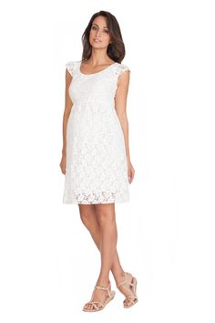 Lace Maternity Dress | Maternity Clothes www.duematernity.com
