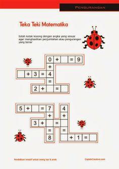 Belajar Hitung Angka 1 20 Lembar Latihan Matematika Untuk Anak Paud Tk Balita Belajar Anak