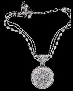 Montana Silversmith Round Star Necklace