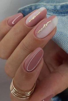 Classy Nails, Stylish Nails, Trendy Nails, Cute Nails, Simple Elegant Nails, Simple Nails, Pinterest Nail Ideas, Gel Nail Art Designs, Pointy Nails