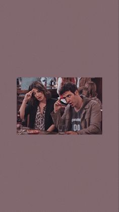How I Met Your Mother, Friends Tv Show, Just Friends, Walpapper Vintage, Ted And Robin, Love Tv Series, Robin Scherbatsky, Ted Mosby, Himym