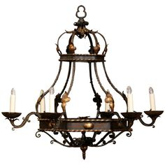 Chandelier Lighting Fixtures, Chandelier Pendant Lights, Light Fixtures, Iron Chandeliers, Vintage Chandelier, Contemporary Lamps, Ceiling Lights, Antiques
