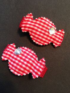 Sweet Candy Hair Clippies by mycutesies on Etsy, $3.00