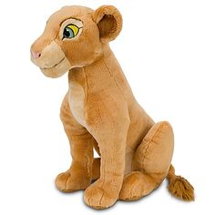 The Lion King Adult Nala Plush Toy -- 16'' H
