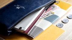 Trip Case & Notebook / Ocean
