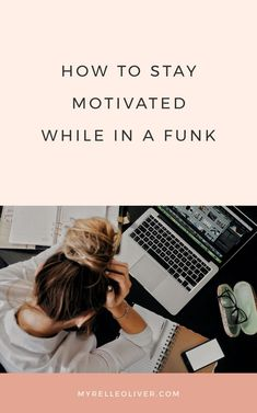 Learn how to stay motivated and get yourself back into the groove of things again. Find out how to get inspired back to your regular self. In A Funk, Good Habits, Self Care Routine, Successful People, Positive Mindset, Growth Mindset, How To Stay Motivated, Personal Development, Professional Development