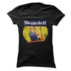 We can do it rosie riveter - #tshirt drawing #victoria secret hoodie. SIMILAR ITEMS => https://www.sunfrog.com/LifeStyle/We-can-do-it-rosie-riveter.html?68278