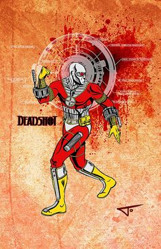 Deadshot  11 x 17 PINUP by JourneyStudiosOnline on Etsy, $20.00