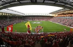 Anfield, Liverpool FC., England