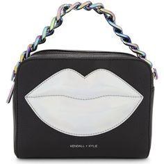 4063e48a4a KENDALL  amp  KYLIE Lucy lips cross-body bag (305