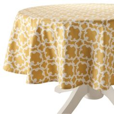 Yellow Lattice Tablecloth- 70R.Opens in a new window  $15  LOVE