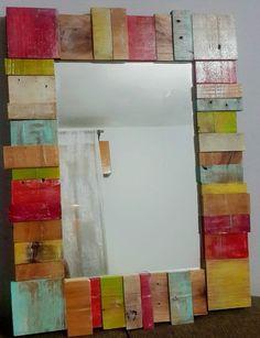 Espejo Maderitas | MercadoLimbo.com