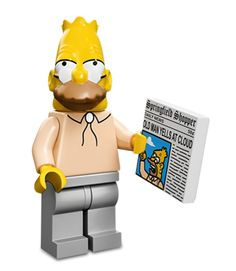 Apu, Ralph Wiggum and Krusty the Clown are just a few of the Lego 'Simpsons' series' newest faces. Legos, Minifigura Lego, Buy Lego, Lego Moc, Lego Ninjago, Lego Batman, Simpsons Lego, Thor, Casa Lego
