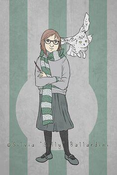 Harry Potter inspired custom portrait  Choose by SillyLunastorta