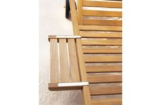 Bandeja Chaise-longue Camarat : Tumbonas y Chaises Longues Clásico - Tectona