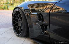 CHEVY #CORVETTE ZR1 WIDE BODY KIT