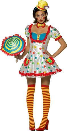 Makeup idea for clown costume