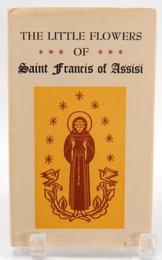 Little Flowers of St. Francis of Assisi Peter Pauper Press HC DJ 1964 Inspirational Book by QueeniesCollectibles on Etsy