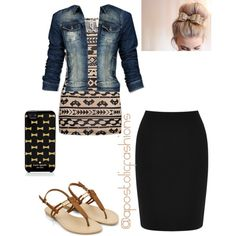 Apostolic Fashions #278 by apostolicfashions on Polyvore featuring BKE, Mexx, Warehouse and Kate Spade