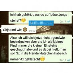 Bad Boys Bad Boys The post Bad Boys appeared first on Kinderzimmer ideen. Funny Chat, Funny Sms, Sms Text, Text Messages, Bad Gyal, Funny Lyrics, Really Funny Pictures, Bad Bunny, Whatsapp Message