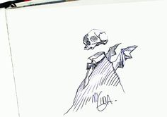"""""""SKETCHTRAVEL"""" Official Blog: The famous Mike Mignola"""