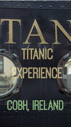 The Real Titanic Experience in Ireland. We found ourselves in the little town of Cobh, Ireland, known in the past as Queenstown, where the mighty Titanic made it's last port of call before heading to America. Cobh was the portal to the new world, travelers from all over Ireland came here to start their new life by journeying to America. http://www.divergenttravelers.com/the-real-titanic-experience-in-ireland/