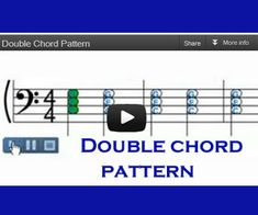 Learn how to apply Double Chord Pattern in improvising your favorite song - Free online piano lessons for beginners.