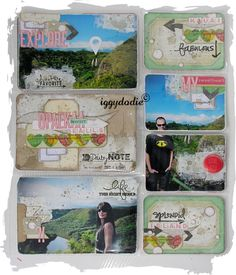 Project Life Kit February: my pages - Scrappadingue - The scrap of Elodie Touzet iggydodie
