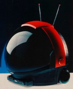 They Don't Make Cool Looking TVs Like This Anymore: 13 of the Most Bizarre and Breathtaking Television Set Designs That Ever Existed Tv Set Design, 80s Design, Modern Design, 70s Decor, Space Fashion, Television Set, Tv Sets, Vintage Tv, Space Age