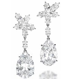 Harry Winston diamond earrings expected to fetch $3.9 million