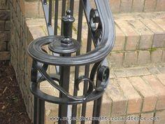 Raleigh NC custom wrought iron railings Raleigh Wrought Iron Co.