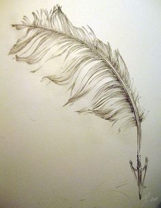 Most popular tags for this image include: art, drawing, feather, sketch and feather pen Quill Tattoo, Tatoo Art, Arrow Feather, Feather Art, Trendy Tattoos, Love Tattoos, Tatoos, Bff Tattoos, Tasteful Tattoos